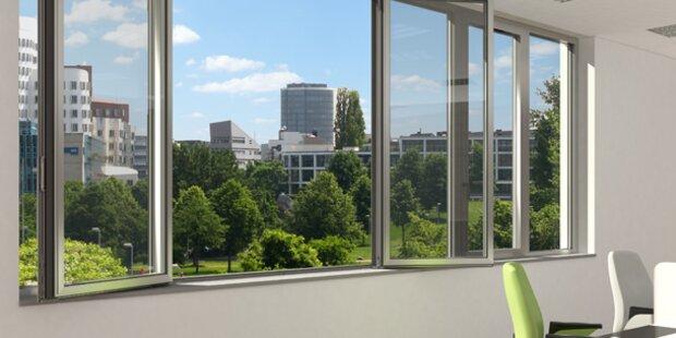 Energie und Kosten sparen mit Schüco Aluminium-Fenstern
