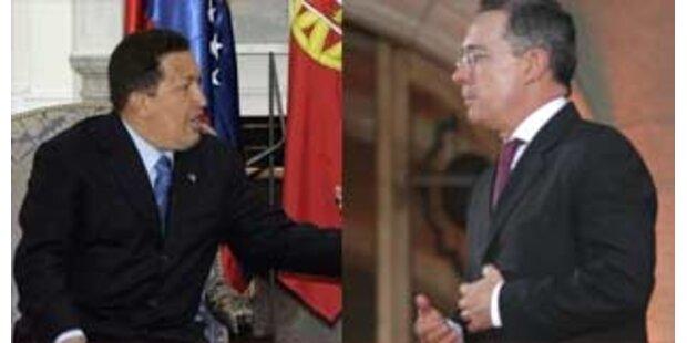 Kolumbien gibt Chavez den Laufpass