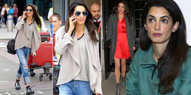 Clooneys Verlobte im Style-Check