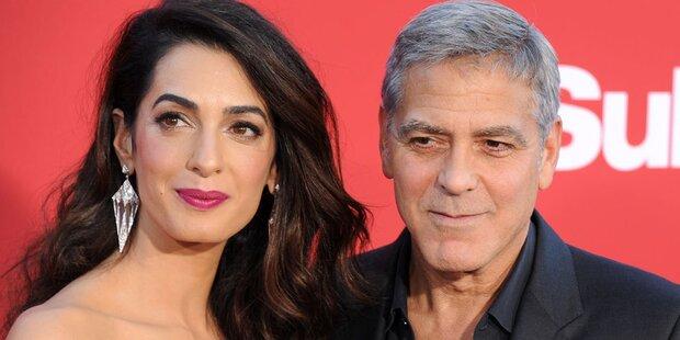 Clooney nach Crash wieder fit