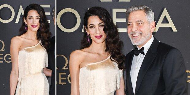 Amal Clooney: Ist das ein Babybauch?