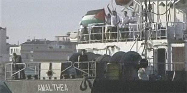 Gaza-Hilffsschiff errreicht Ägypten