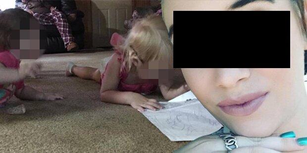 Mutter lässt Kinder bei 33 Grad im Auto: tot