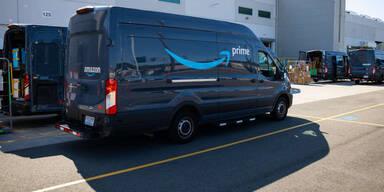 Amazon-Fahrer werden künftig gefilmt