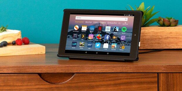Amazon greift mit Alexa-Tablet an