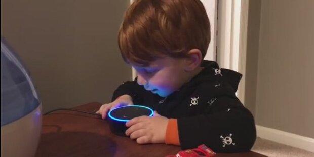 Amazons Siri-Gegner spielt Kind einen Porno vor