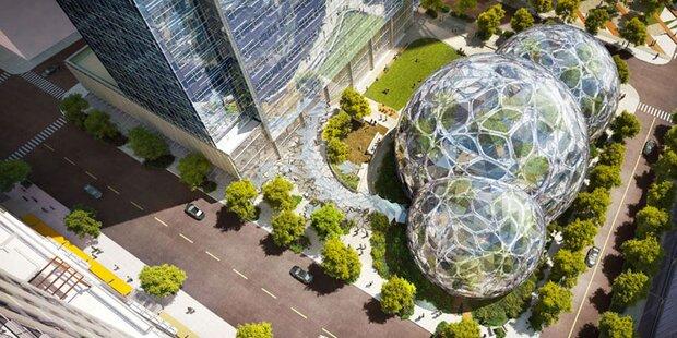 Amazon plant zweites Mega-Hauptquartier
