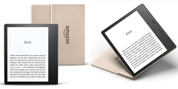Kindle Oasis jetzt auch im Edel-Look