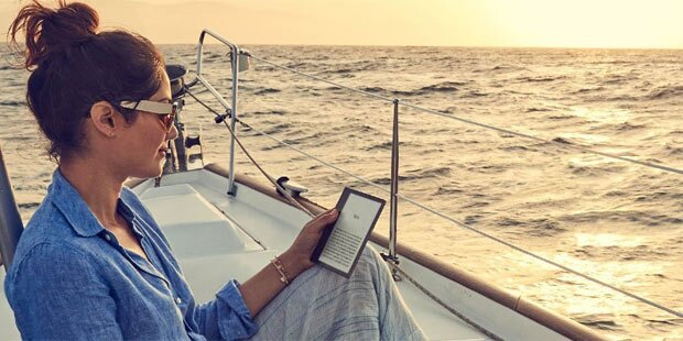 Neuer Amazon Kindle Oasis Ist Wasserdicht Und Hat Ein 7