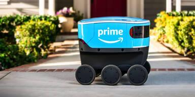 Lieferroboter von Amazon legen los