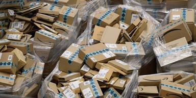 Paketflut wegen Online-Shopping-Boom hält an