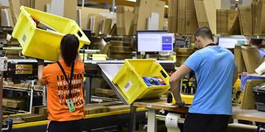 Fast 20.000 Amazon-Mitarbeiter mit Corona infiziert