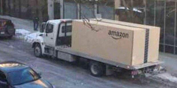 Irre: Amazon liefert neues Auto im Mega-Paket