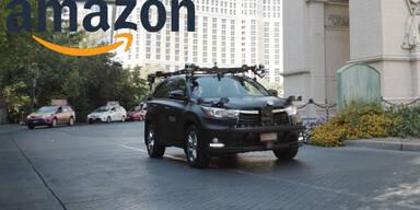 Kommen Amazon-Pakete bald mit dem Robo-Auto?