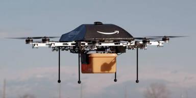 Wettlauf bei den Zustell-Drohnen