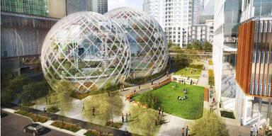 Amazon plant Firmen-Zentrale der Superlative
