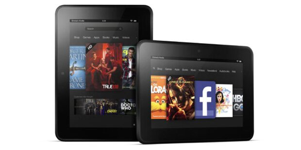 Amazon enthüllte neue Kindle-Tablets