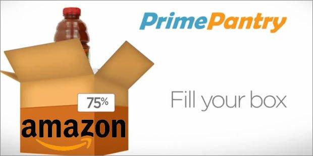Amazon liefert jetzt auch Lebensmittel