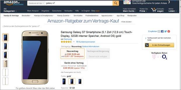 Handys bei Amazon für uns bald teurer?
