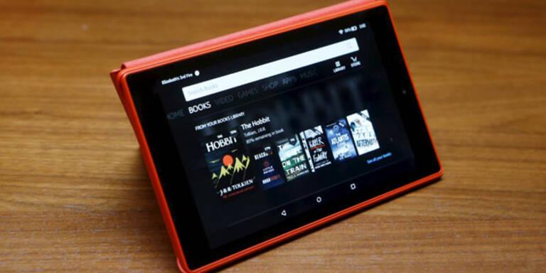 Amazon bringt 44-€- Tablet & 4K-Fire-TV
