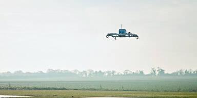 Amazon lieferte erste Bestellung per Drohne