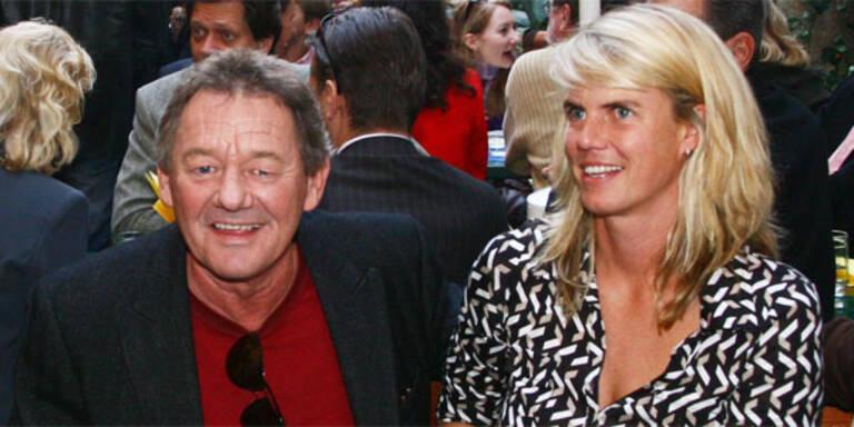 Wolfgang Ambros mit Anne Reger