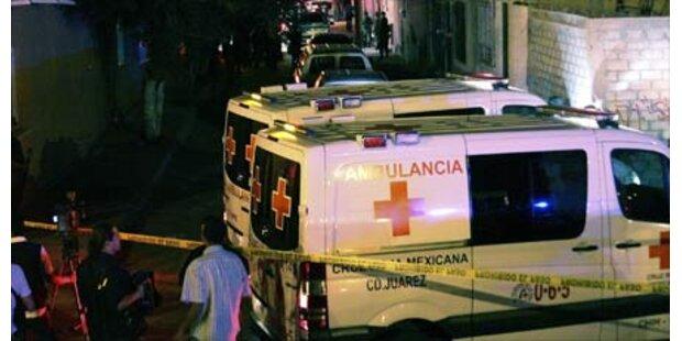 40 Tote in Mexikos Drogenkrieg