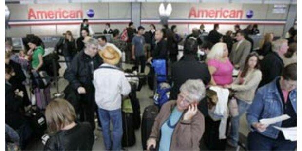 American Airlines streicht 1.000 Flüge