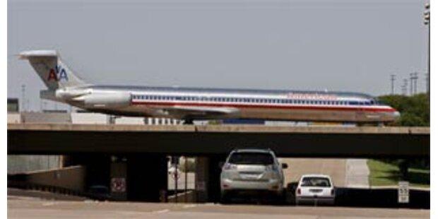 Millionenverluste für American Airlines