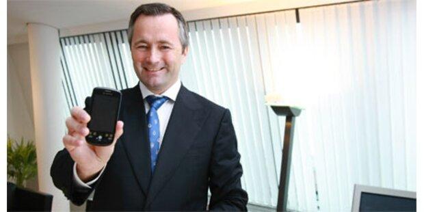 Handy-Gespräche machen 60% aus