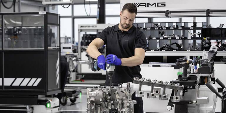 Mercedes baut stärksten 4-Zylinder der Welt