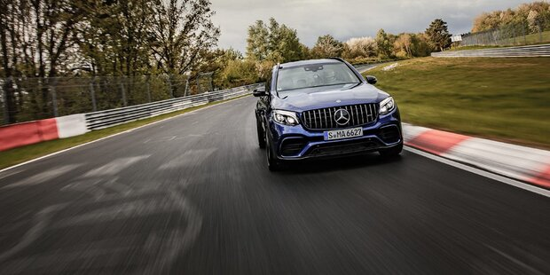 Mercedes AMG GLC ist schnellstes SUV
