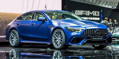 Neuer GT 4-Türer ist stärkster Serien-AMG