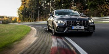 Nordschleifen-Rekord für AMG GT 4-Türer