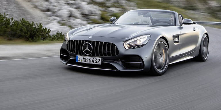 Mercedes bringt den AMG GT (C) Roadster