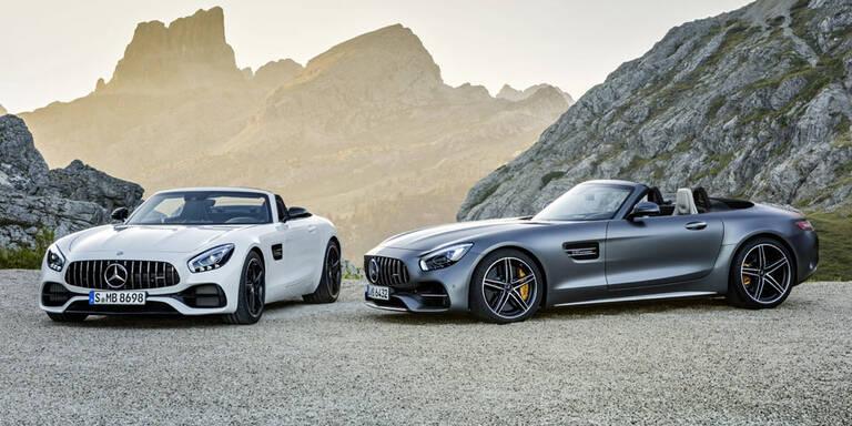 AMG GT R und GT (C) Roadster starten