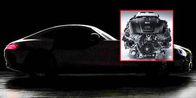 Mercedes zeigt Motor des neuen AMG GT