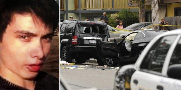 Amok-Killer (22) tötete aus Hass gegen Frauen