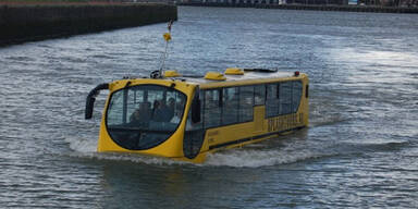 Durch Salzburg schwimmt bald ein Bus