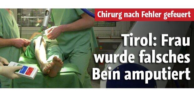 Tirolerin wurde falsches Bein amputiert
