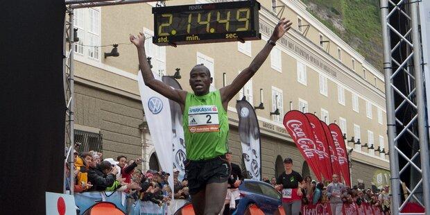19-Jähriger gewinnt 8. Salzburg AMREF Marathon