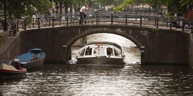 Amsterdamer Kanäle neu auf der Liste