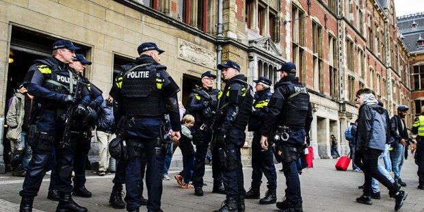 Schüsse bei versuchter Festnahme in Amsterdam