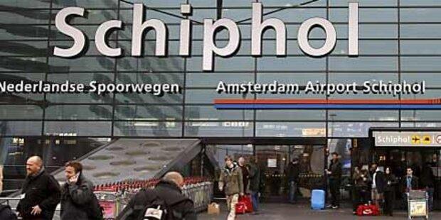 Terror-Alarm auf Amsterdamer Flughafen