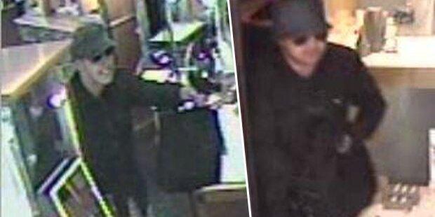 Axt-Überfall auf Juwelier: Polizei sucht diese Männer