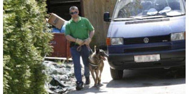 Polizei kam mit Leichenhunden ins Verlies