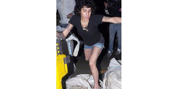 Winehouse torkelte volltrunken durch London