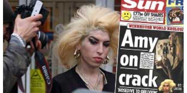 Drogenvideo zeigt Amy Winehouse beim Crack-Rauchen