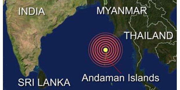 Schweres Erdbeben im Indischen Ozean
