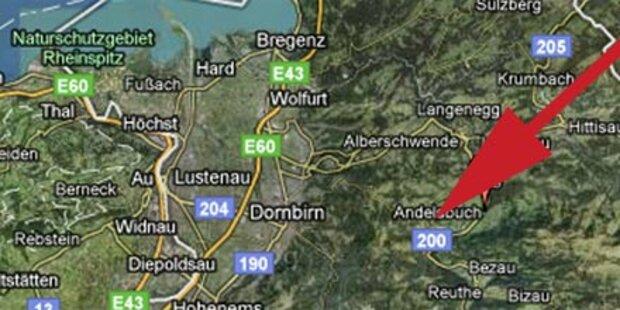 Massenschlägerei im Bregenzerwald